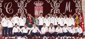 La Selección española recibe la Medalla de Oro de la Comunidad de Madrid