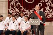 Vicente del Bosque agradece la Gran Cruz del 2 de Mayo