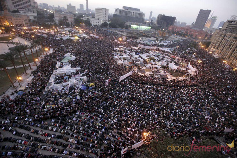 Plaza Tahrir de El Cairo