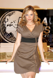 Carolina Bang en la presentación de la serie 'Los exitosos pells'