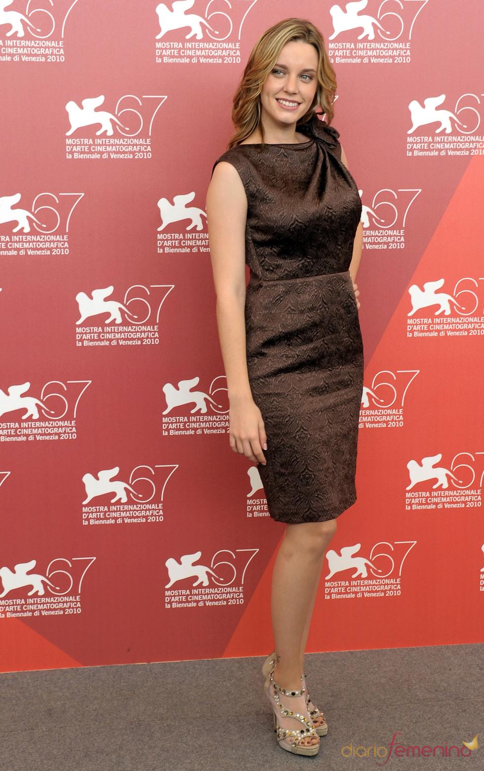 Carolina Bang en el festival de Venecia