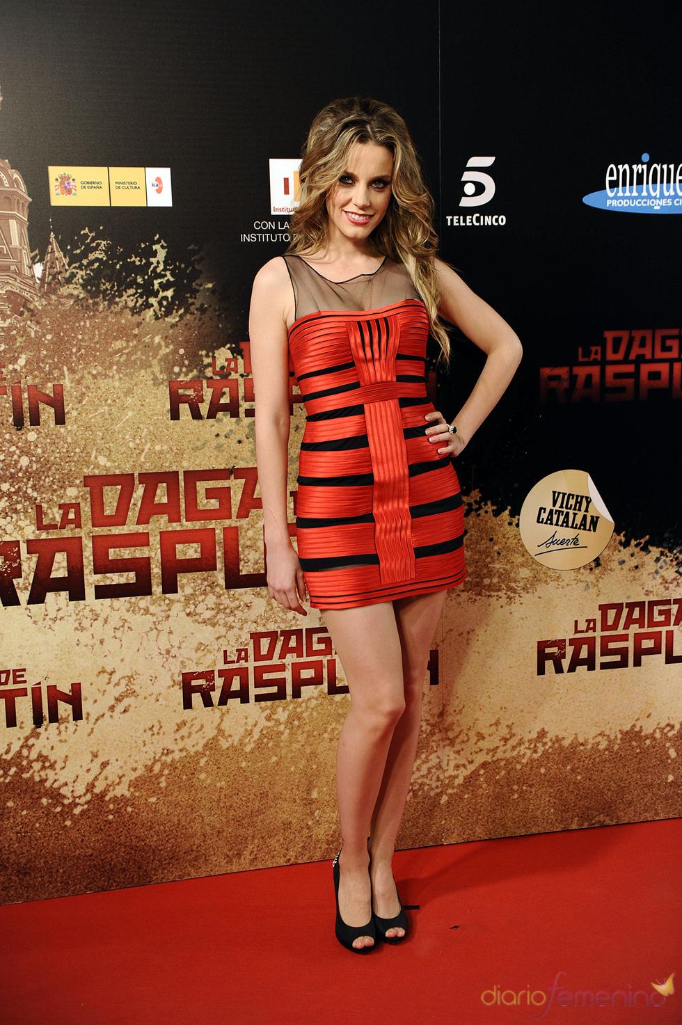 Carolina Bang en la premier de 'La Daga de Rasputín'