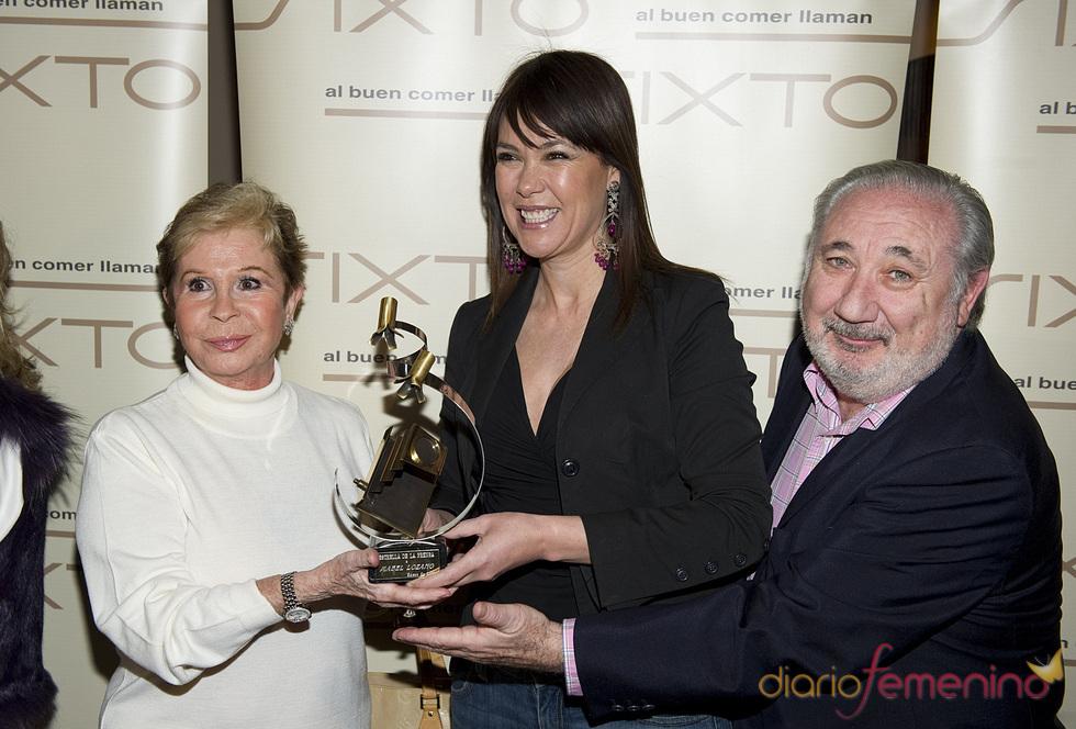 Lina Morgan y Mabel Lozano en los Premios Estrella de la Prensa 2011