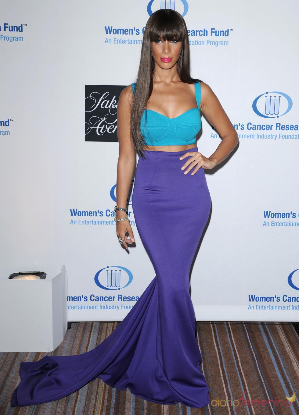 Leona Lewis en una gala benéfica contra el cáncer en Los Ángeles