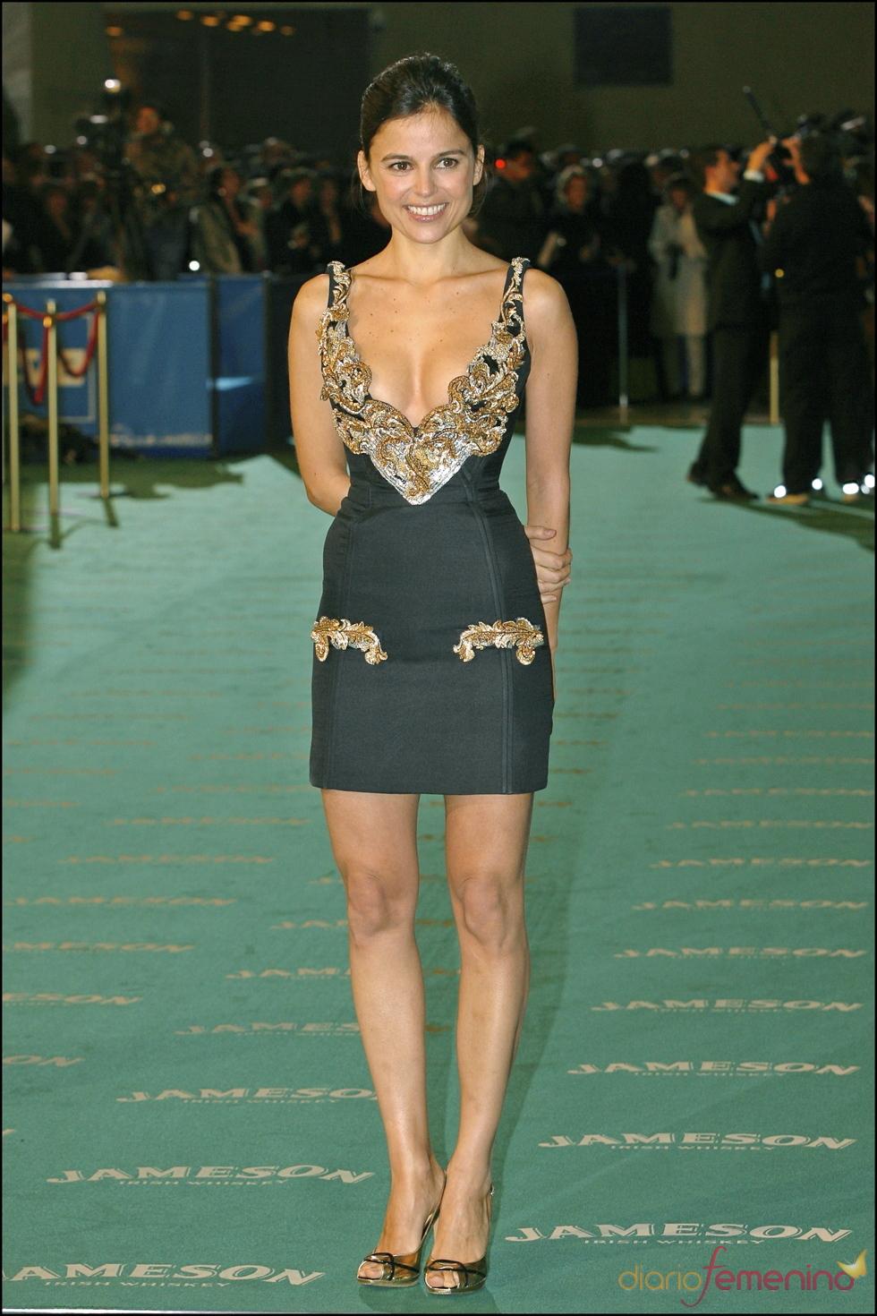 Elena Anaya en los premios Goya 2007