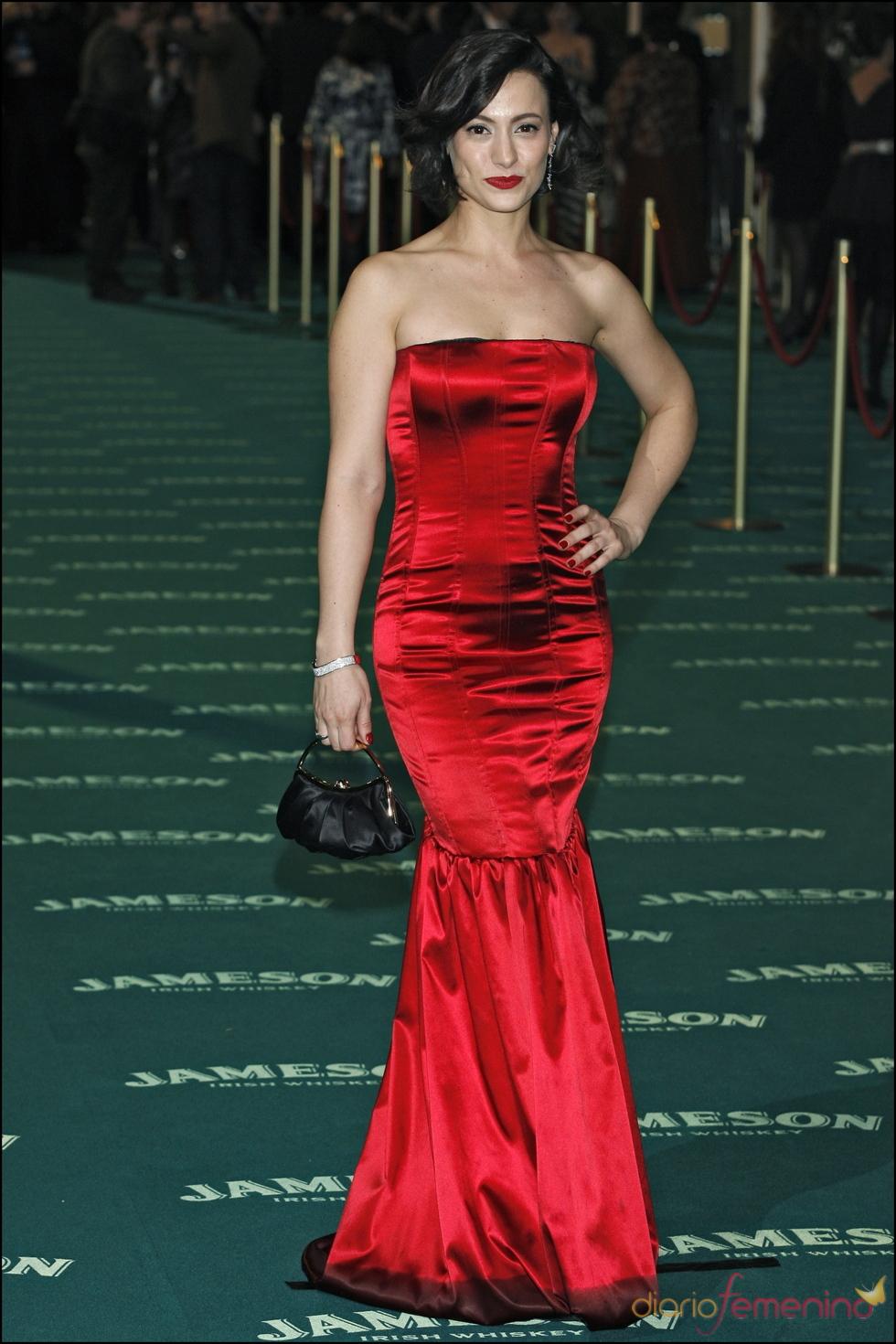 Natalia Verbeke en los premios Goya 2008