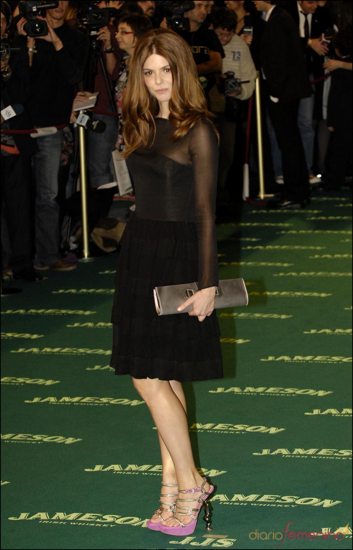 Manuela Velasco en los premios Goya 2009