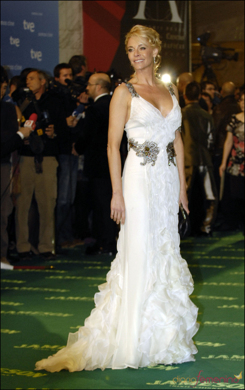 Belén Rueda en los premios Goya 2009