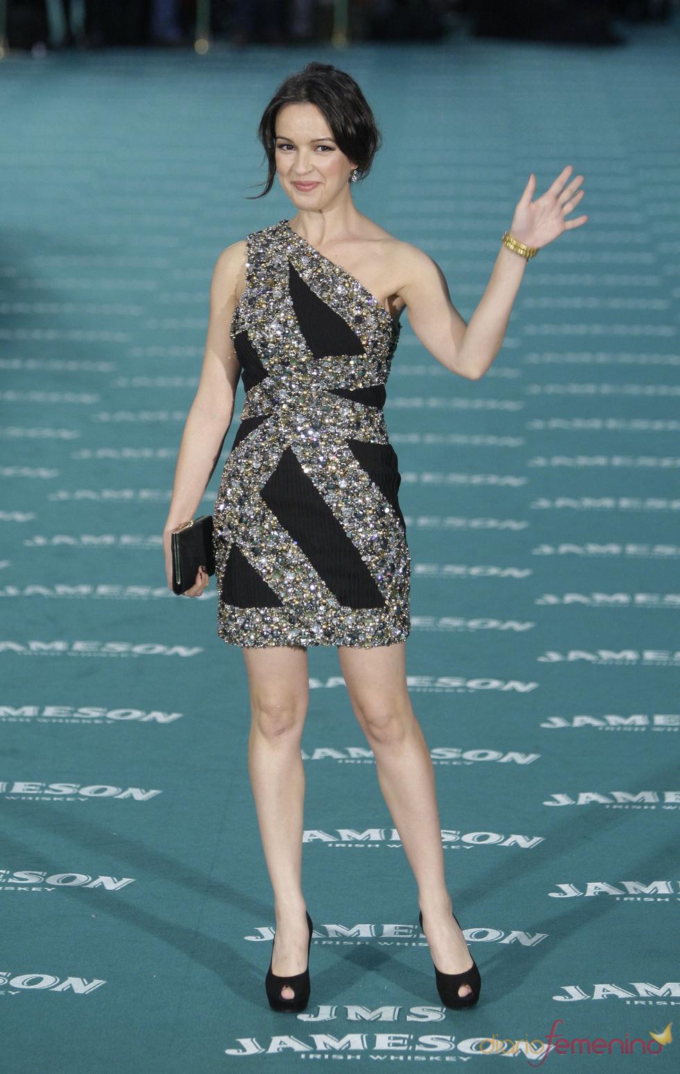 Verónica Sánchez en los premios Goya 2010