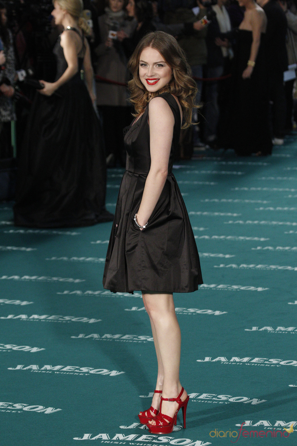 Carla Nieto en los premios Goya 2010