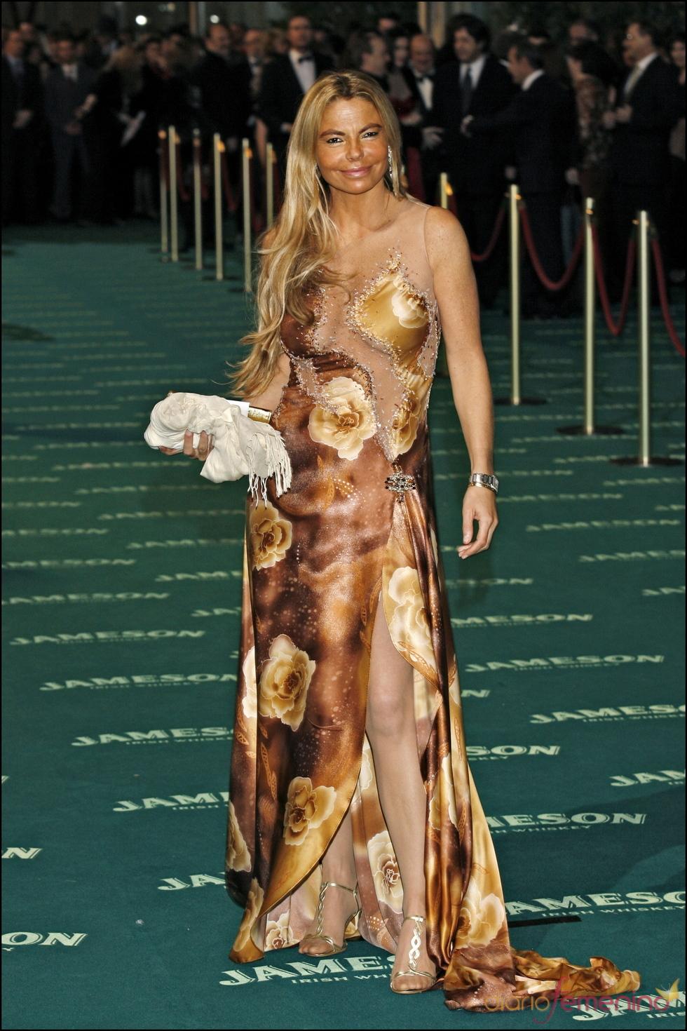Leticia Sabater en los premios Goya 2008