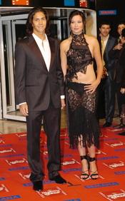 Dafne Fernandez y Fernando Verdasco en los premios Goya 2004
