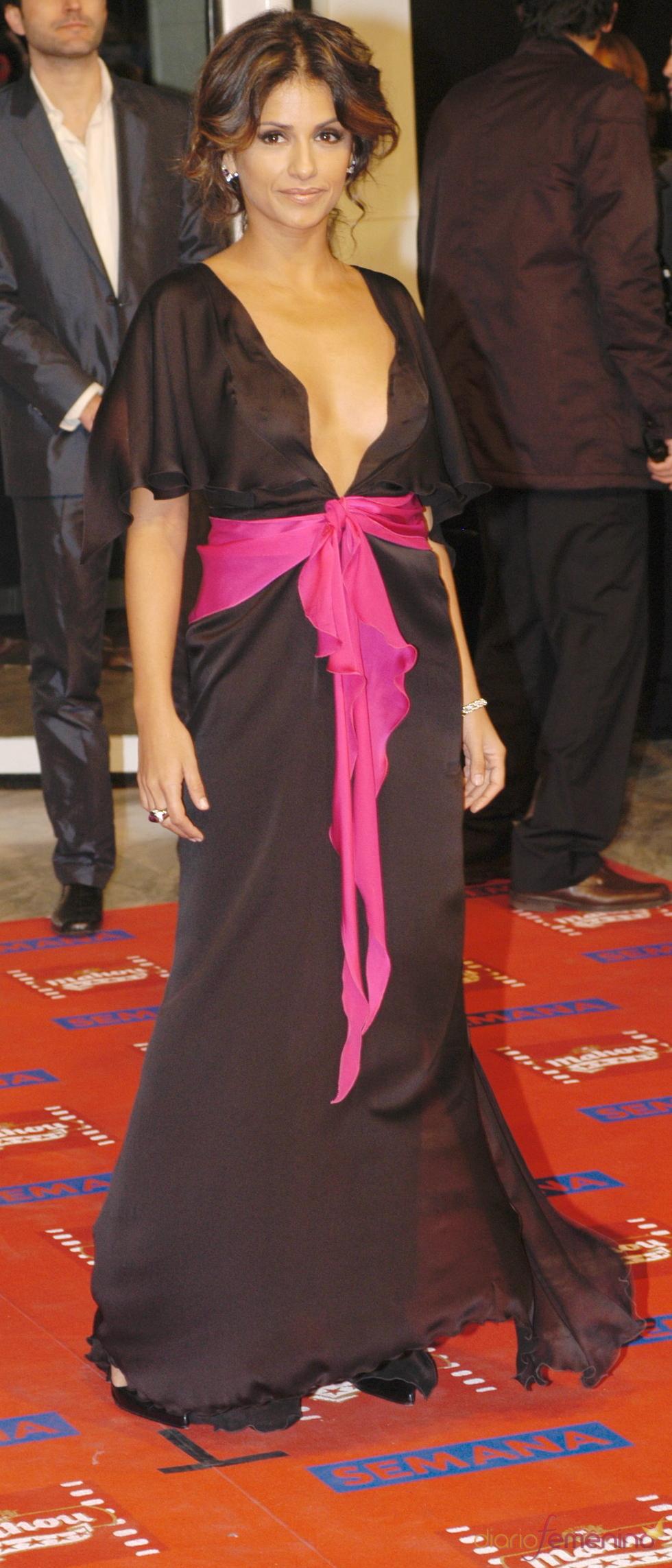 Monica Cruz en los premios Goya 2005