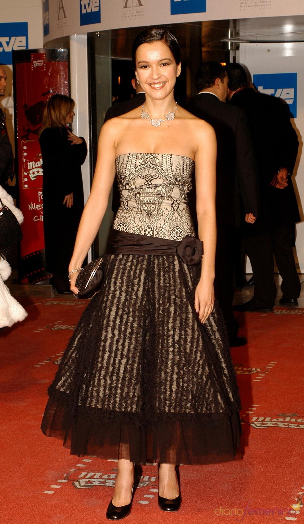 Verónica Sánchez en los premios Goya 2006