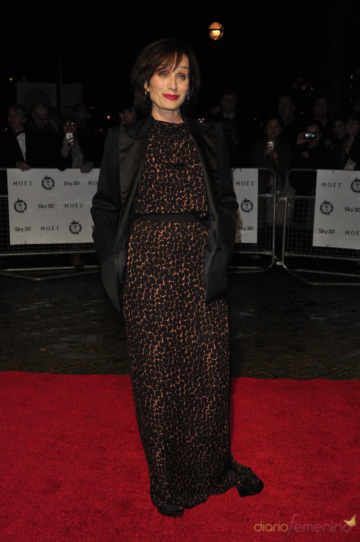Kristin Scott Thomas en los Premios de la Crítica de Londres 2011