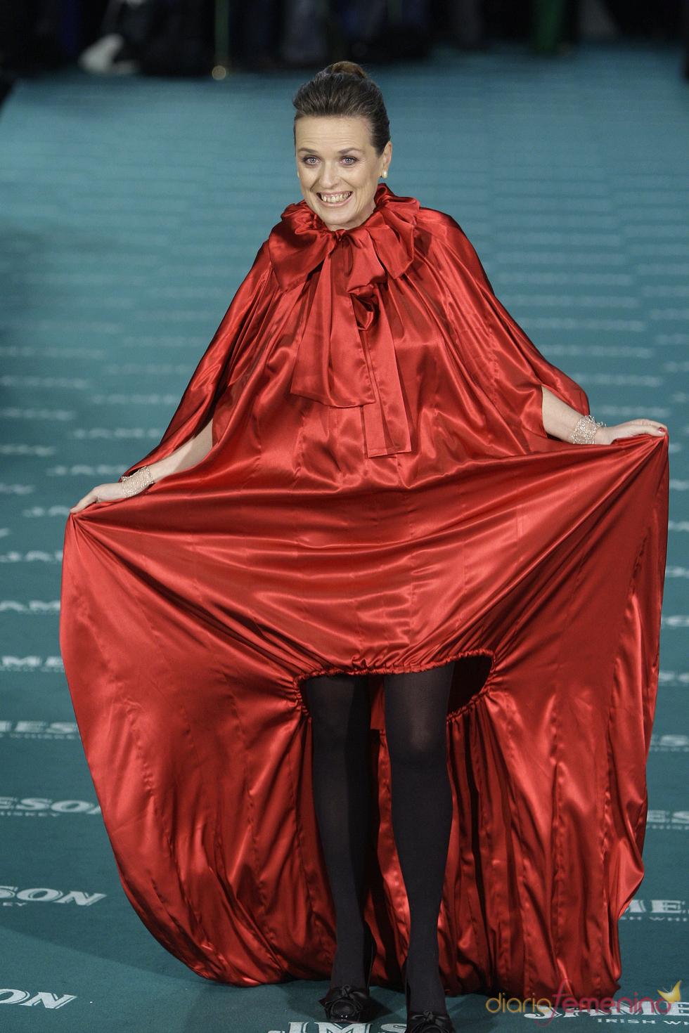 La fotógrafa española Ouka Lele en los premios Goya 2010