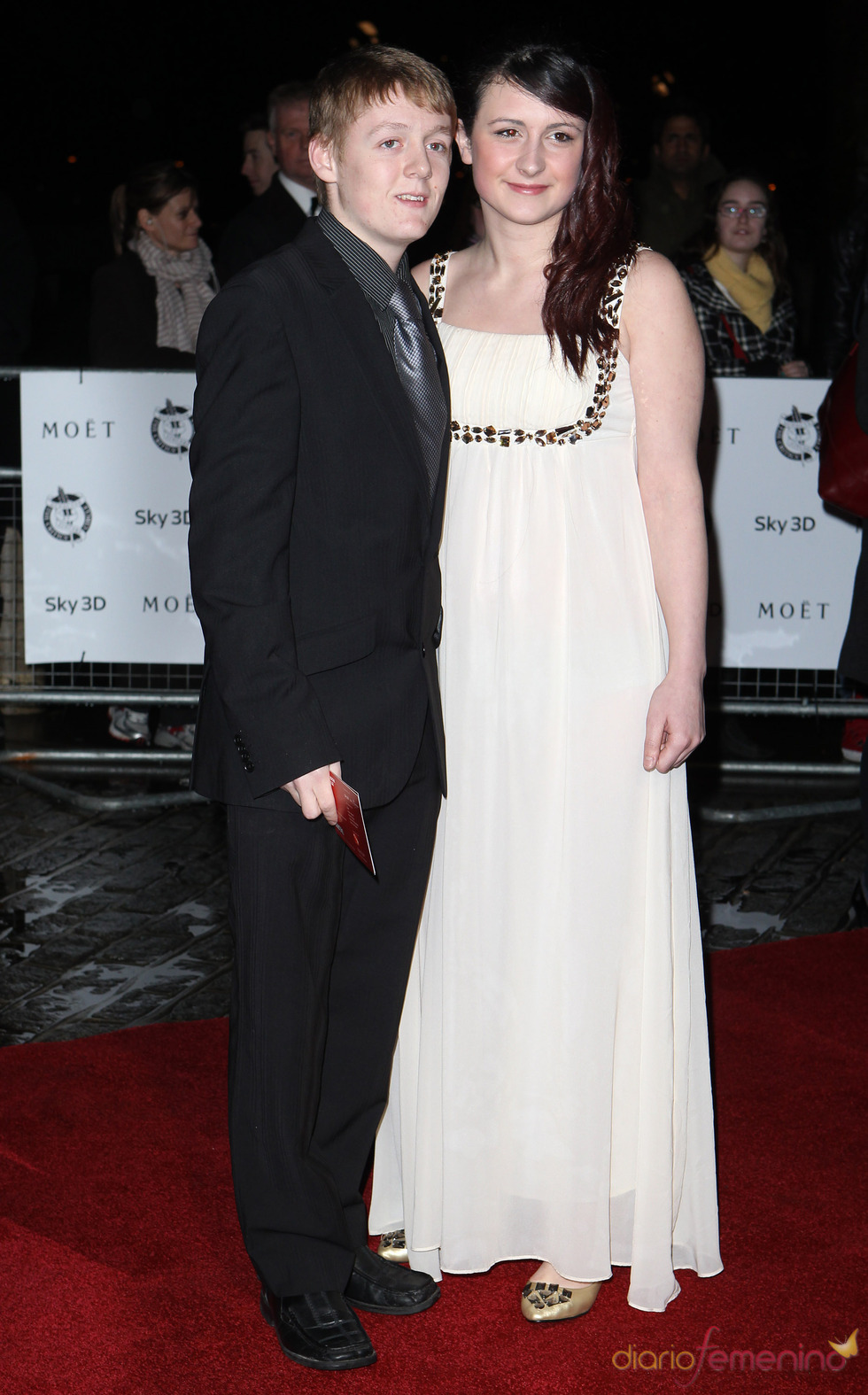 Thomas Turgoose y Shona Keeply en la Crítica de Londres 2011