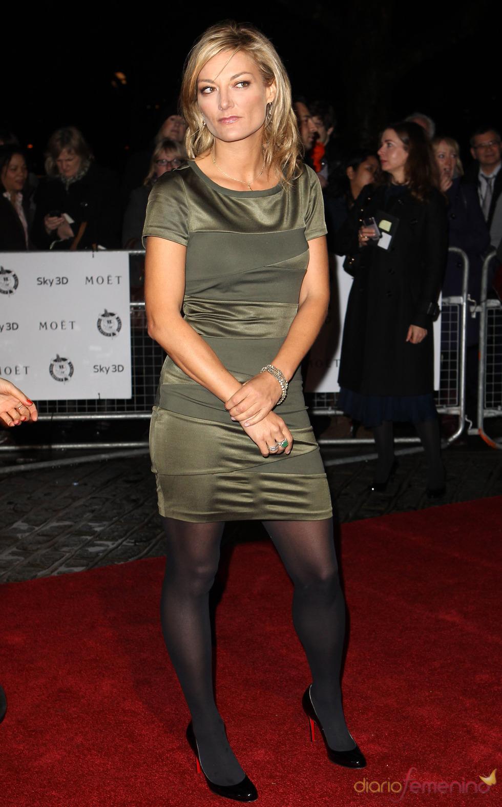 Lucy Walker en los premios de la Crítica de Londres 2011