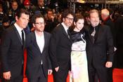 Ethan y Joel Coen, Josh Brolin, Hailee Steinfeld y Jeff Bridges en la Berlinale