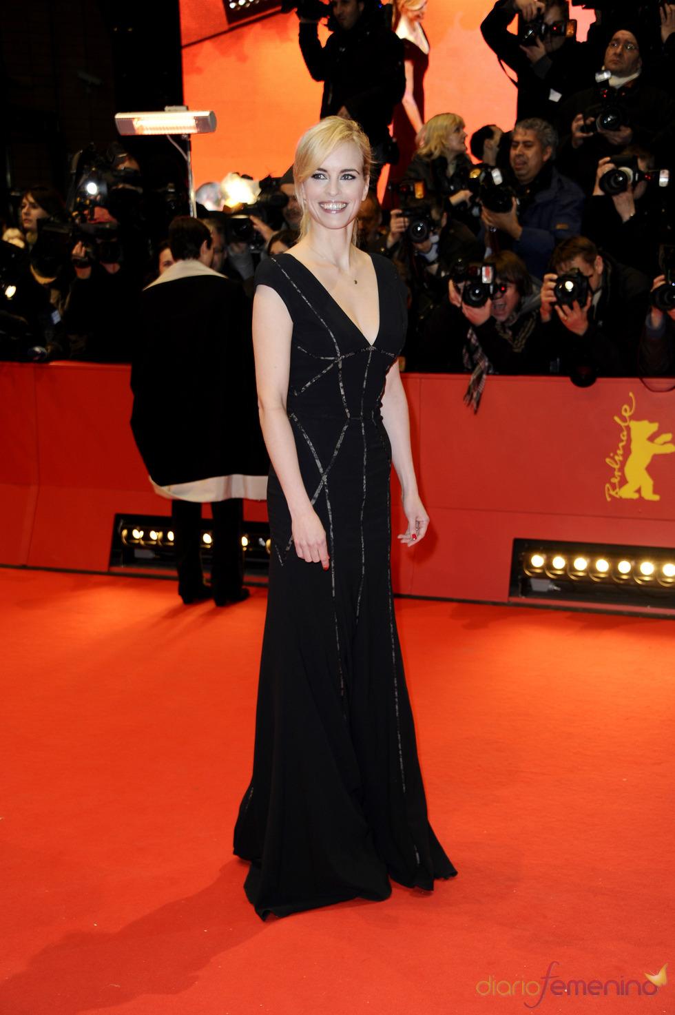 La actriz Nina Hoss en la Berlinale