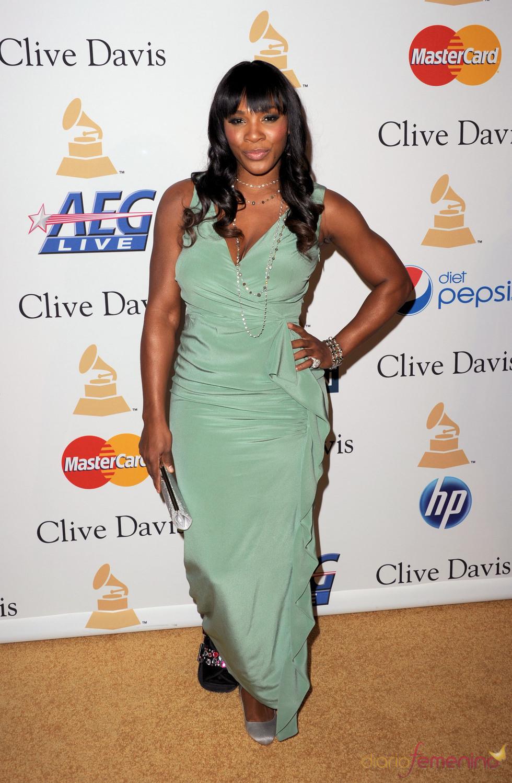 Serena Williams en la fiesta previa a los Grammy 2011