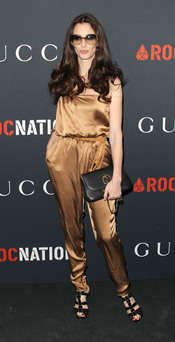 Paz Vega en la fiesta previa a los Grammy 2011
