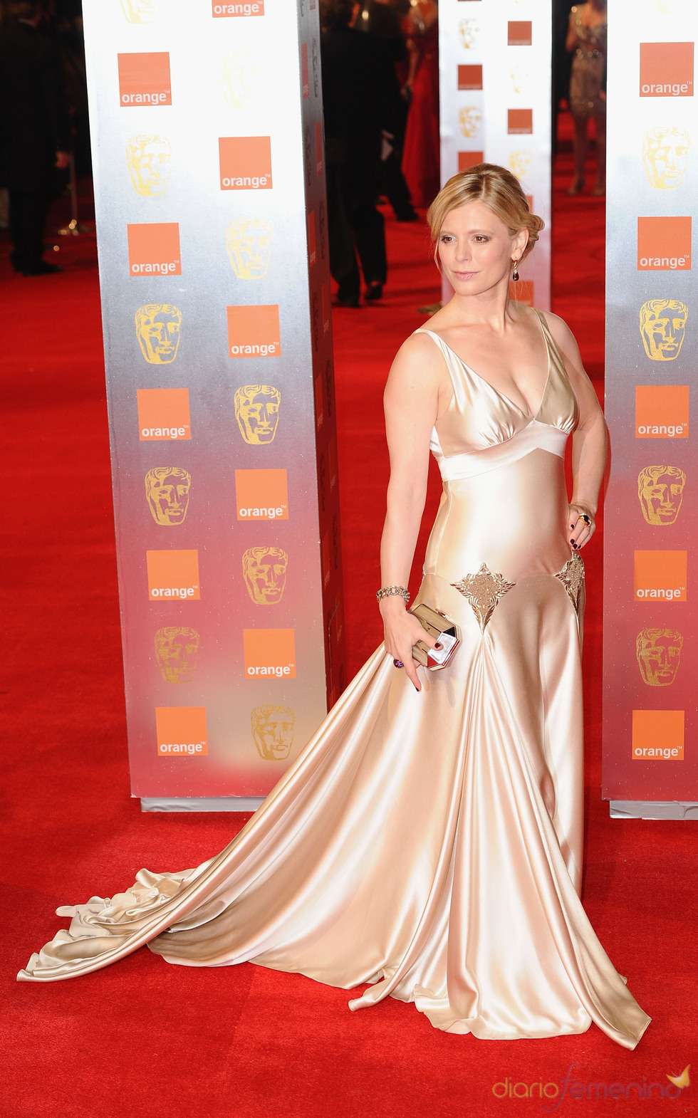 Emilia Fox en la alfombra roja de los Bafta 2011