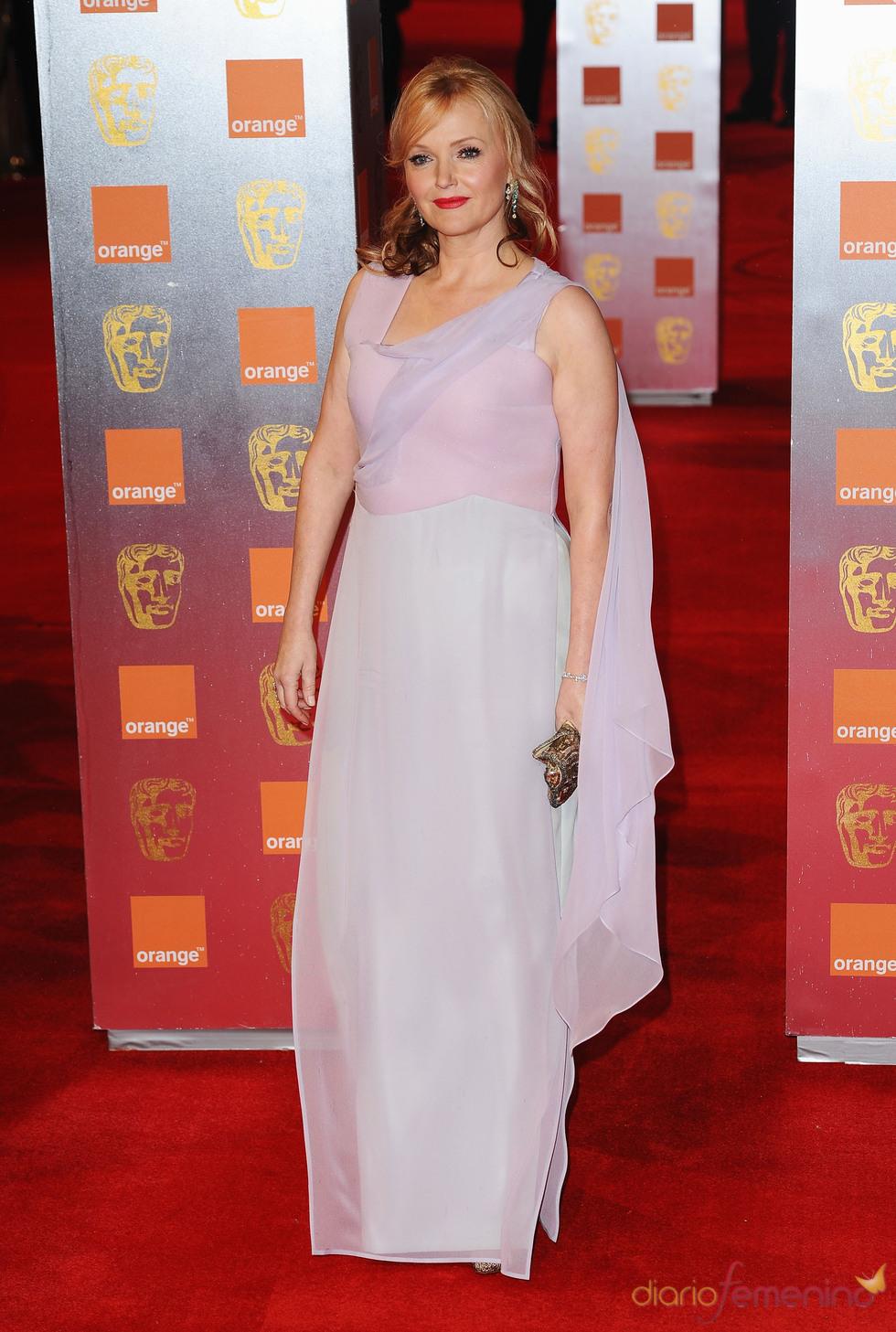 Miranda Richardson en la alfombra roja de los Bafta 2011