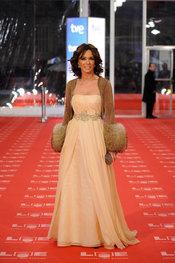 Lydia Bosch en la alfombra roja de los Goya 2011