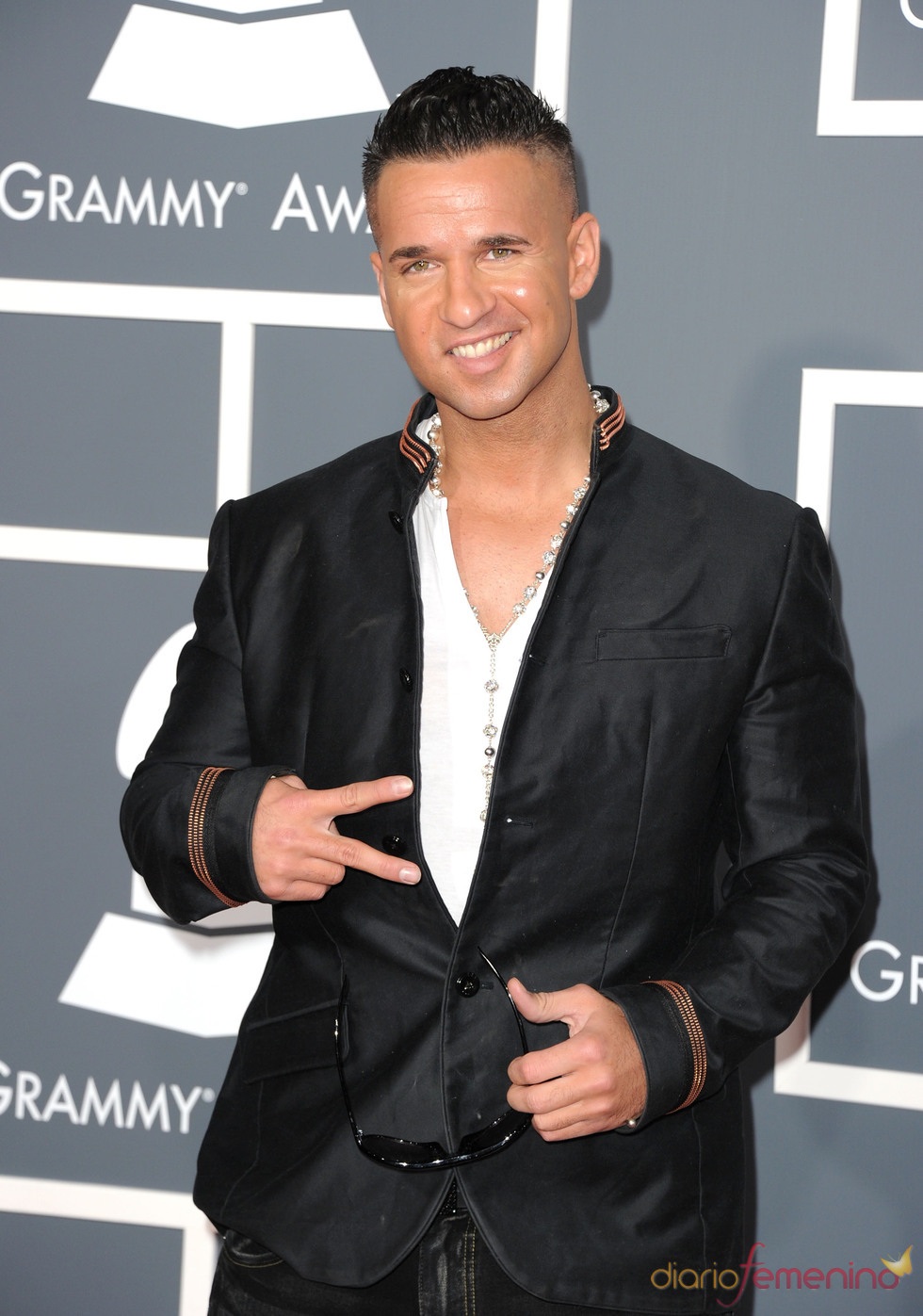 Michael 'The Situation' Sorrentino en los Grammy 2011