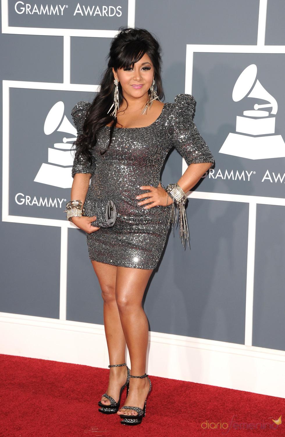Nicole 'Snooky' Polizzi en los Grammy 2011