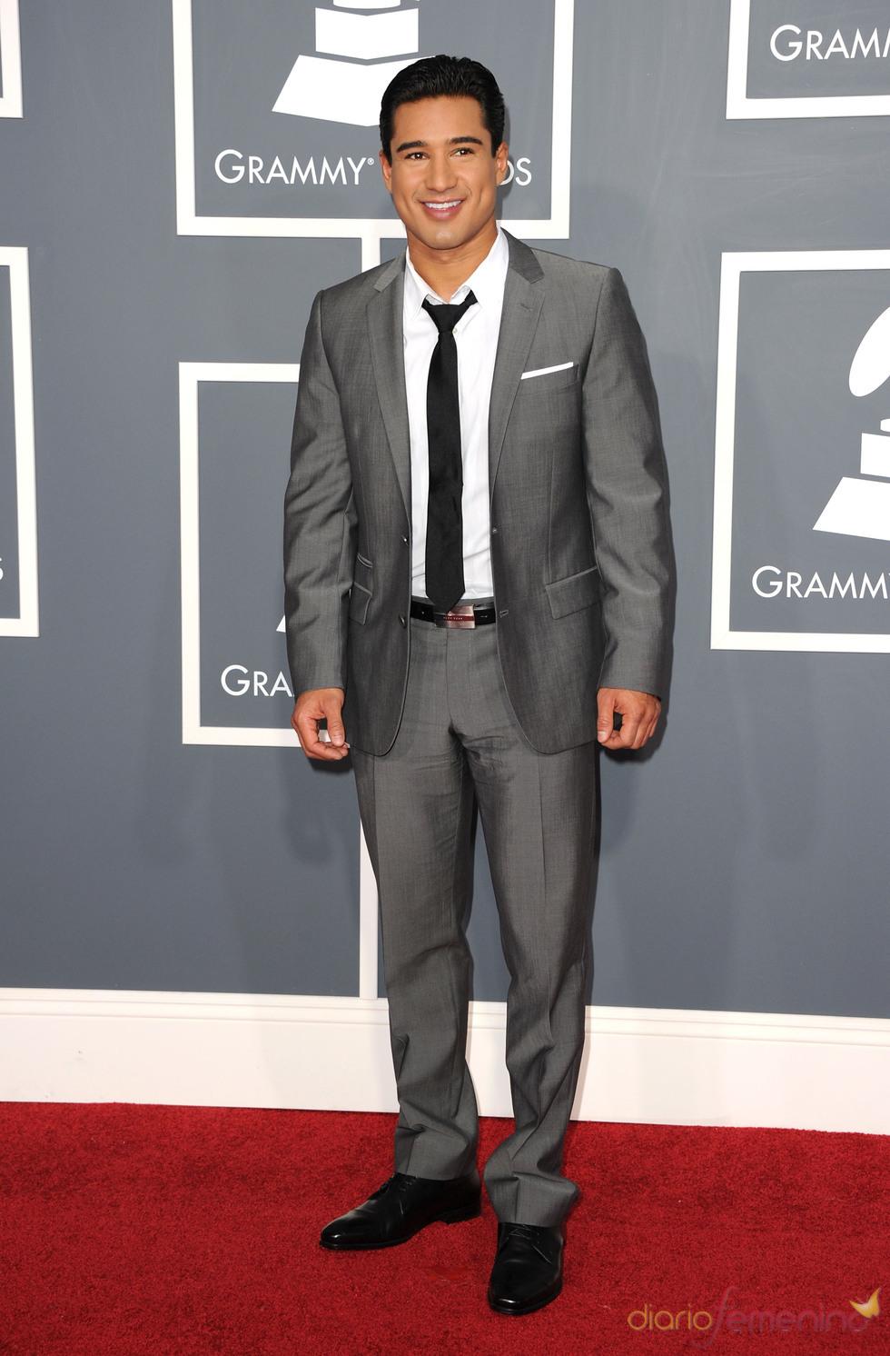 Mario Lopez en los Grammy 2011