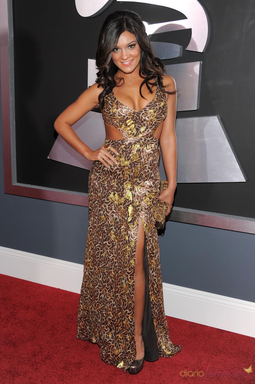 Aleesia en los Grammy 2011