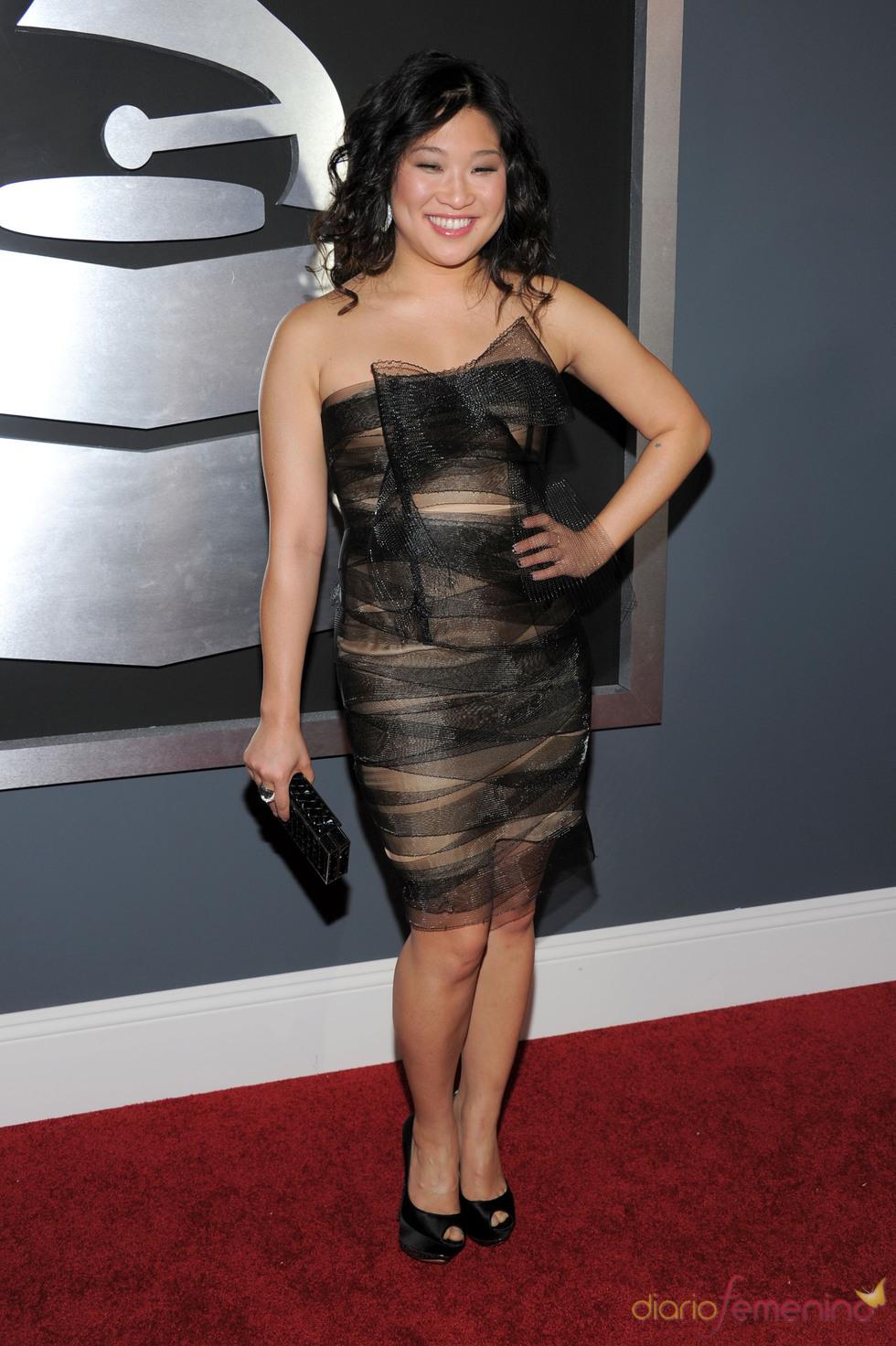 Jenna Ushkowitz en los Grammy 2011