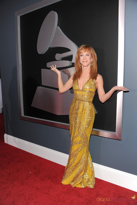 Kathy Griffin en los Grammy 2011