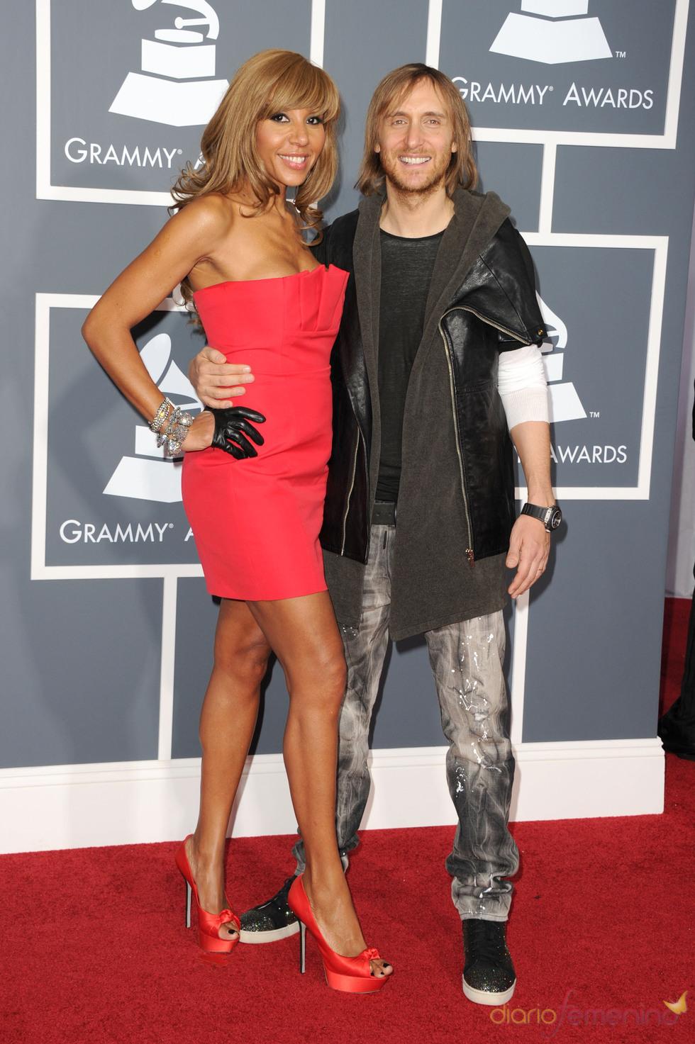 David Guetta en los Grammy 2011