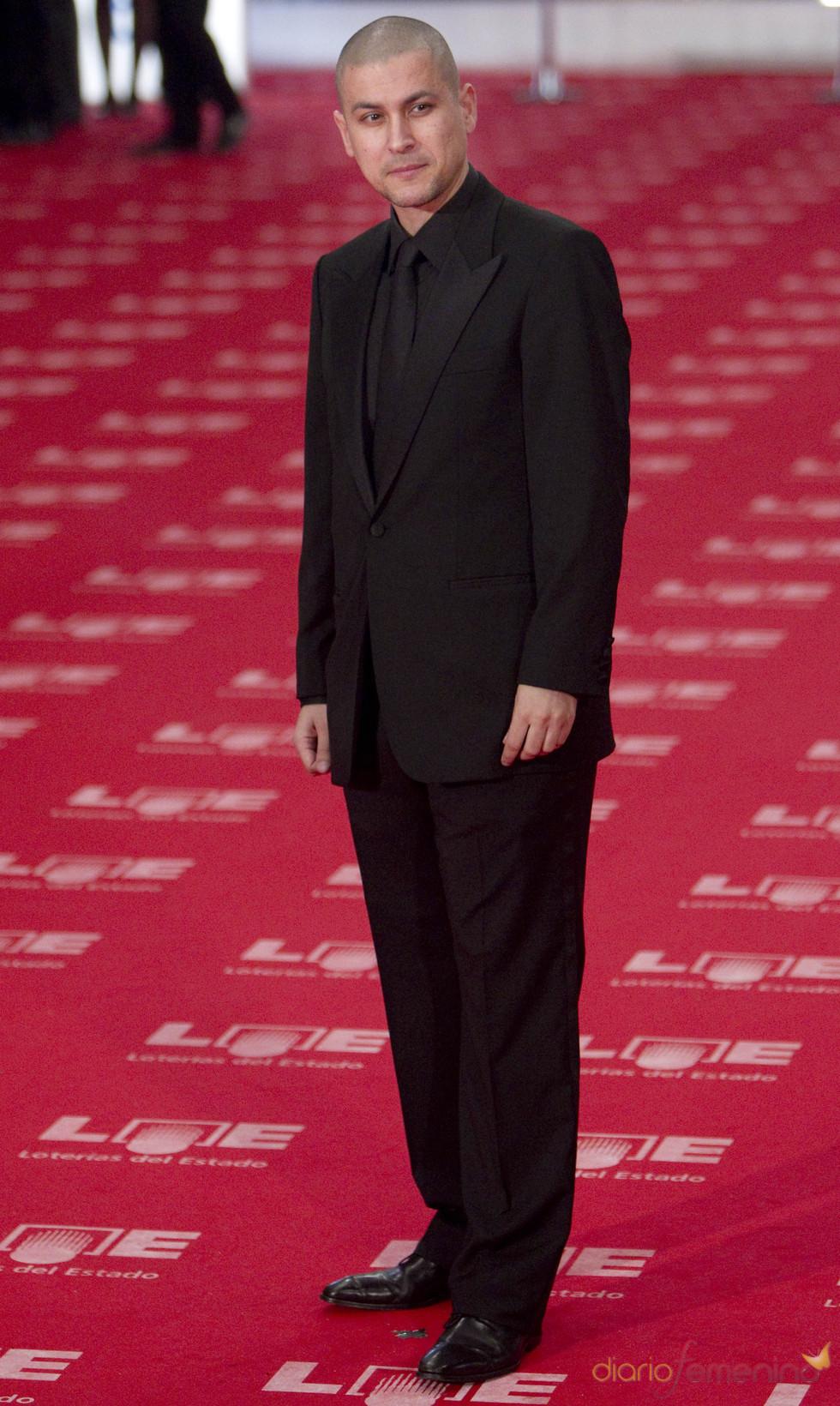 Rodrigo Cortés en la alfombra roja de los Goya 2011