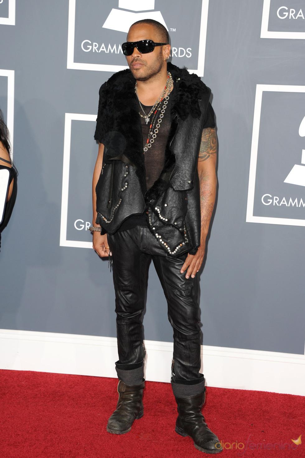 Lenny Kravitz en los Grammy 2011