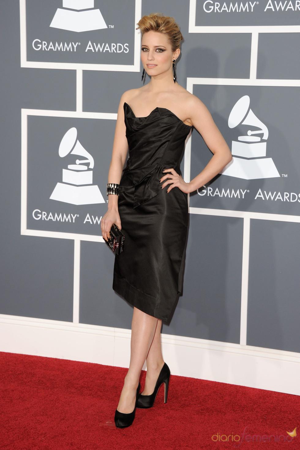 4a8fb0b71 Dianna Agron en los Grammy 2011