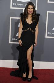 Lea Michele en los Grammy 2011