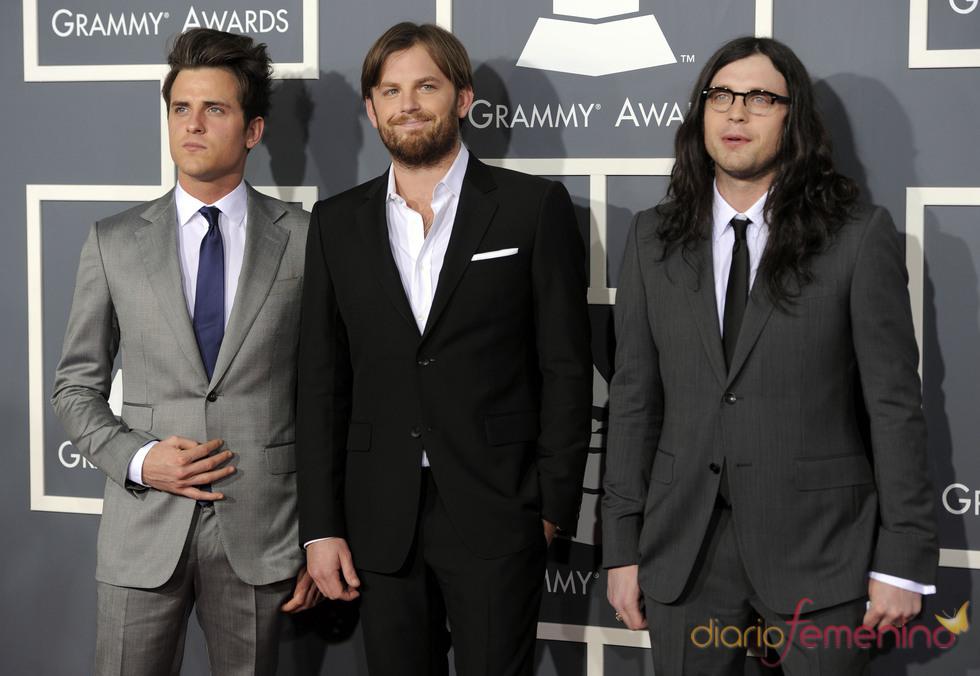 Kings of Leon en los Grammy 2011