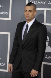Mark Salling, de la serie 'Glee', en los Grammy 2011