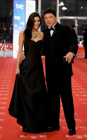 Carlos Bardem y Celia Blanco en los Goya 2011