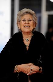 Pilar Bardem en la alfombra roja de los Goya 2011