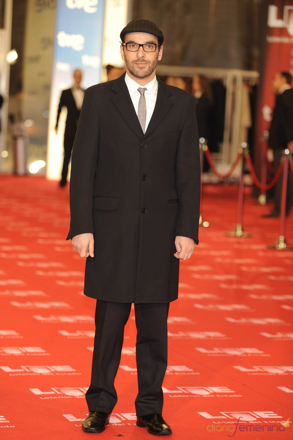 Luis Merlo en la alfombra roja de los Goya 2011
