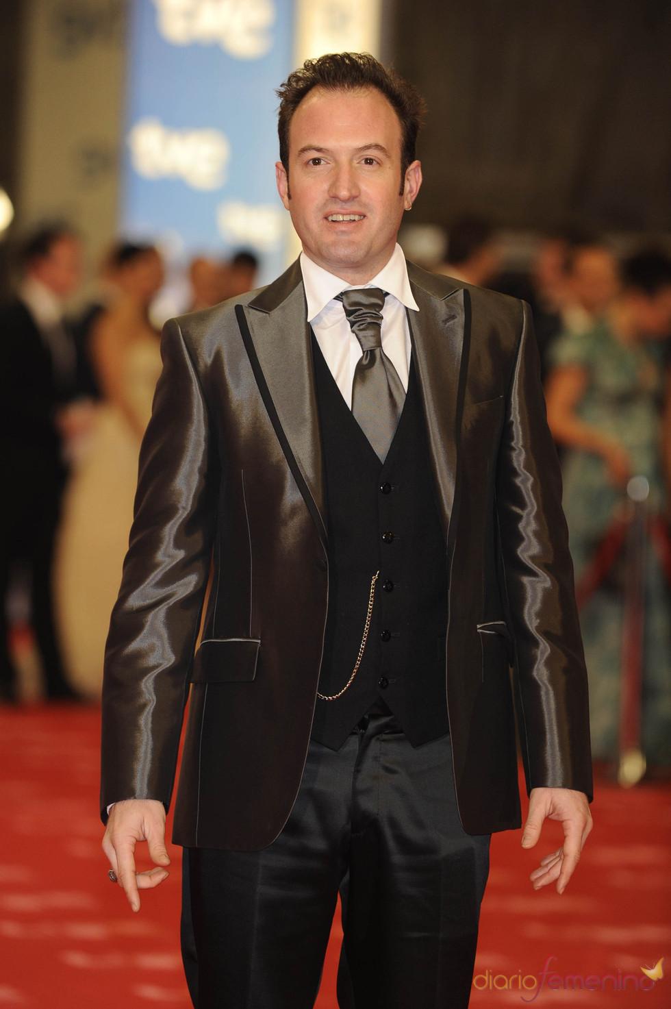 Álex O'Dogherty en la alfombra roja de los Goya 2011