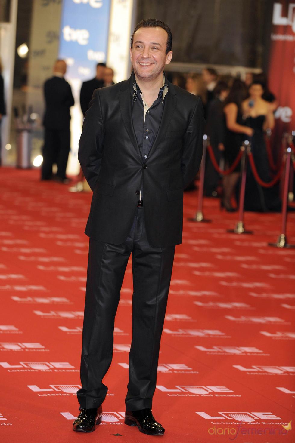 José Luis García Pérez en la alfombra roja de los Goya 2011