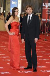 Lucía Jiménez y Benito Sagredo en los Goya 2011