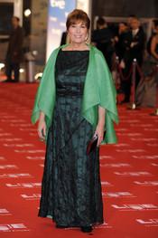 Mercedes Sampietro en la alfombra roja de los Goya 2011