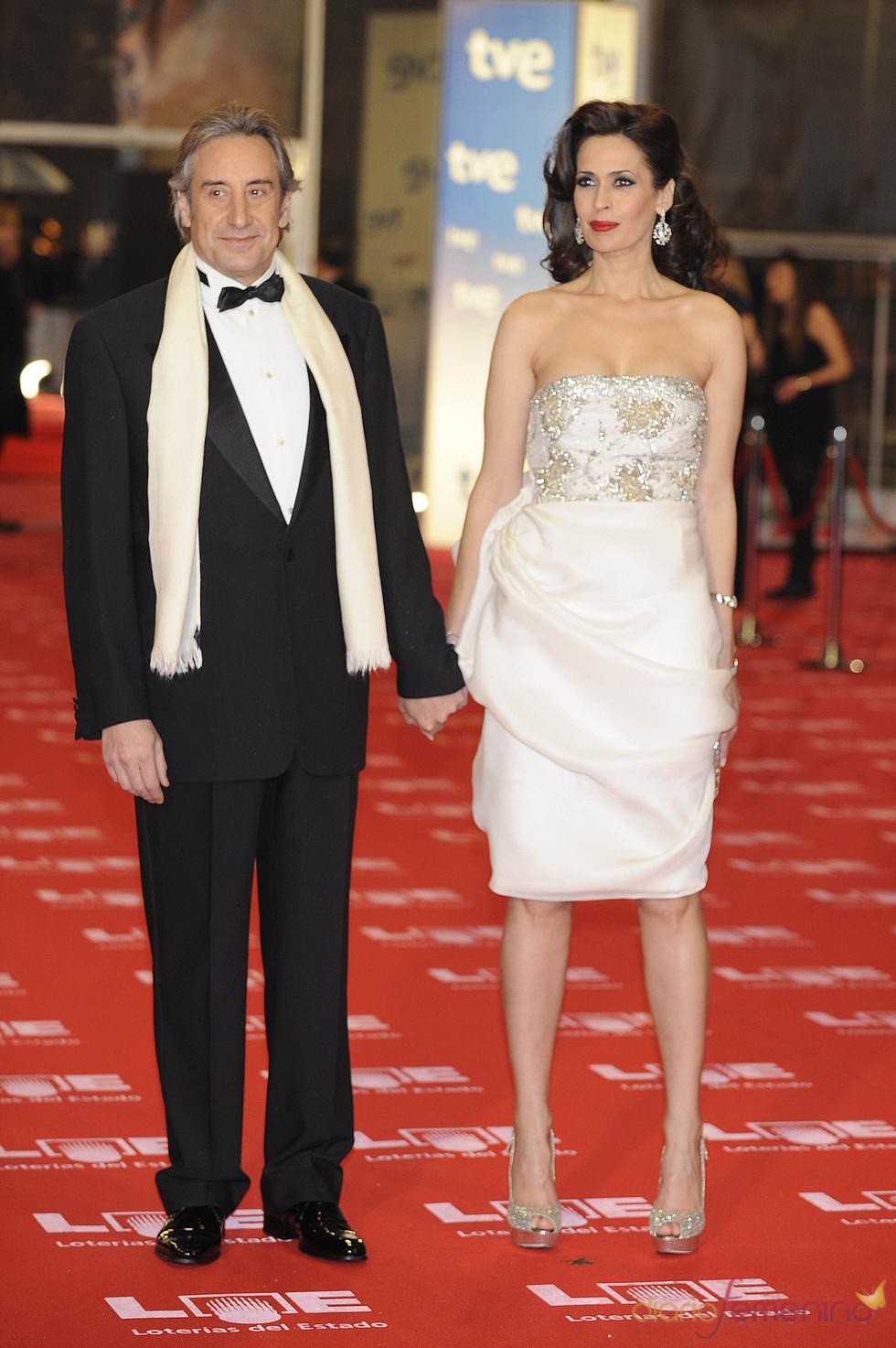 Juanjo Puigcorbé y Lola Marceli en la alfombra roja de los Goya 2011